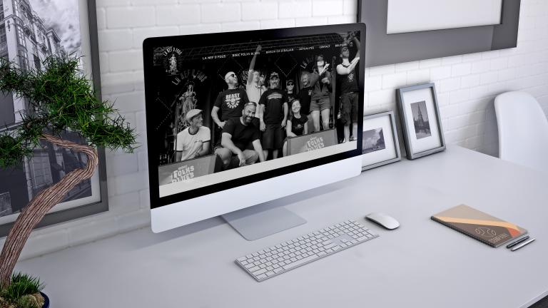 Création d'un site web pour La Nef D Fous