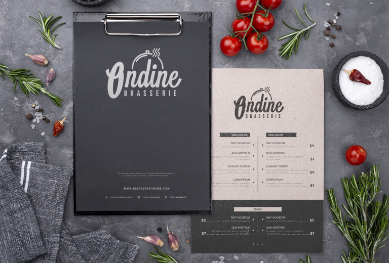 Création d'un logotype : Ondine