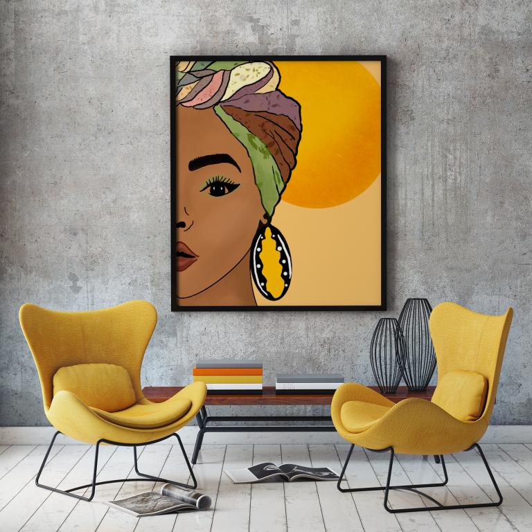 Illustration «Soleil d'Afrique»